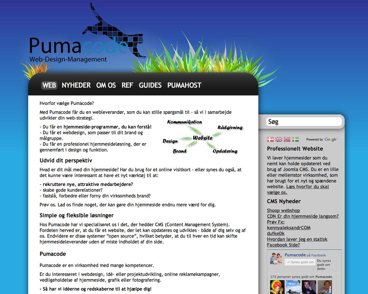 Pumacode.dk
