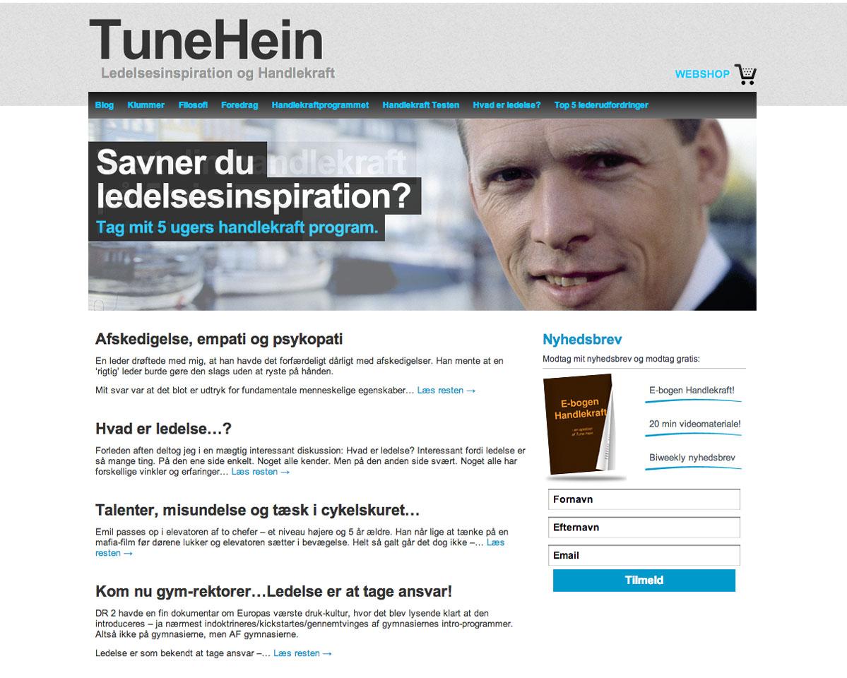 tunehein.dk
